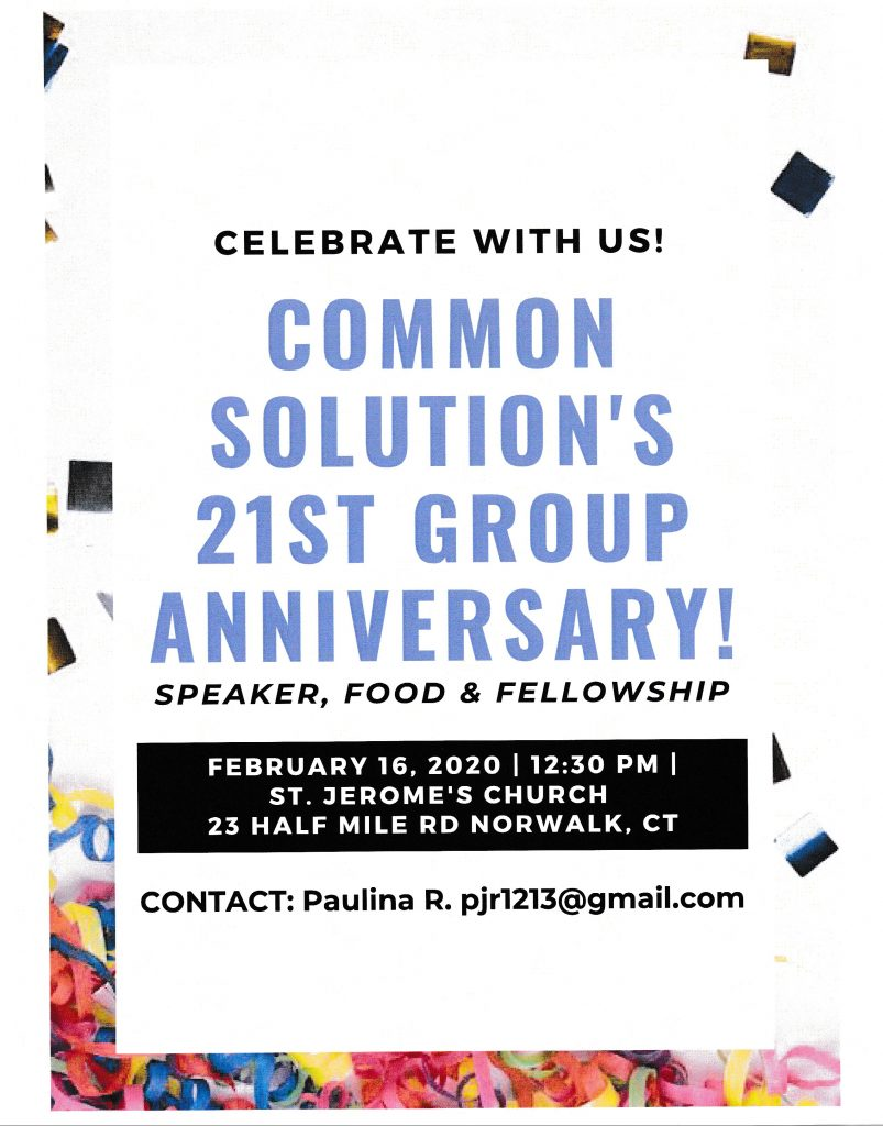 Common Solution 21st Group Anniversary