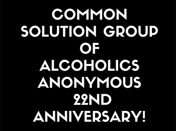 Common Solution 22nd Anniversary!