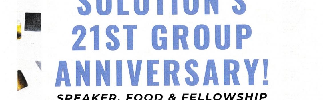 Common Solution 21st Group Ann., Feb. 16, 2020