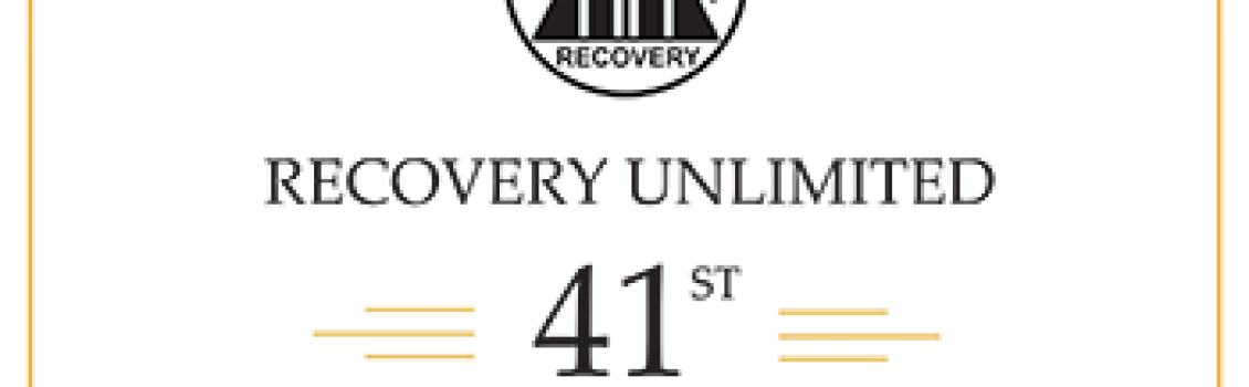 Recovery Unlimited 41st Anniversary Feb. 15, 2020