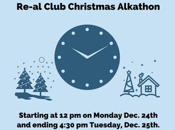 Dec 2018 Re-al Club Christmas Alkathon