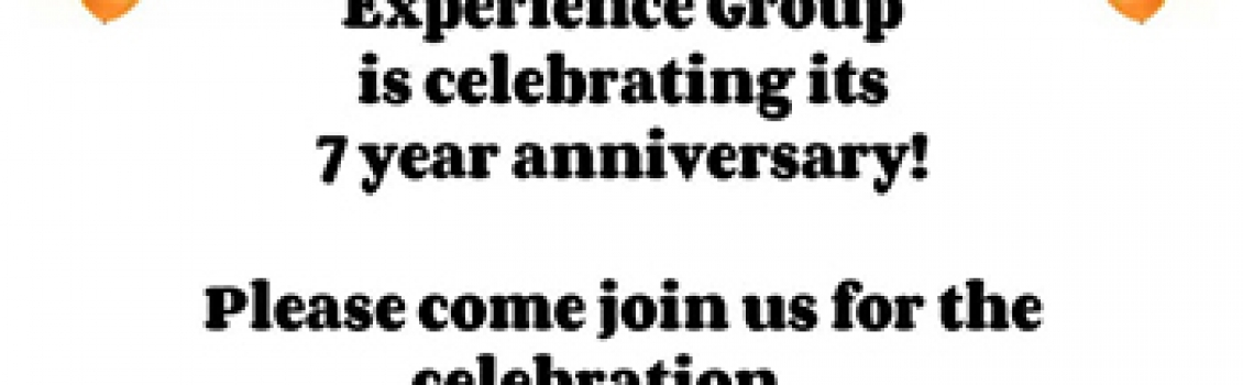 Practical Experience Group 7th Anniversary – Thursday April 25th 2019