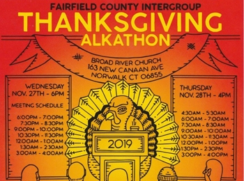 Thanksgiving Alkathon Nov. 27-28, 2019